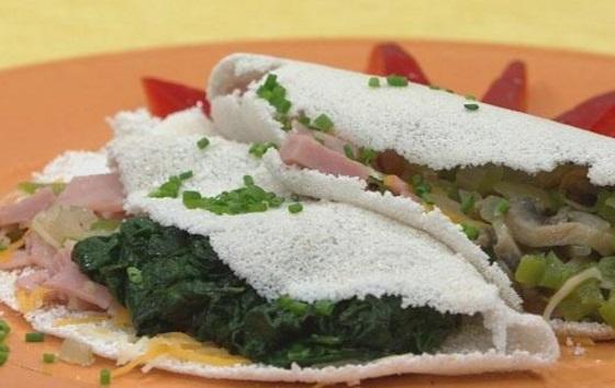 Tapioca Omelet