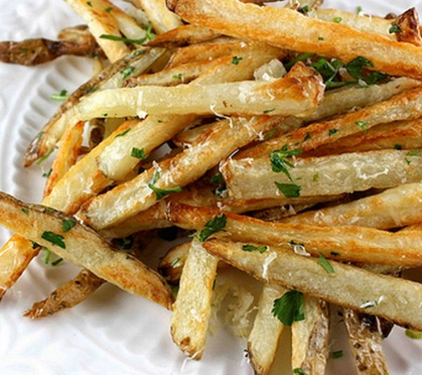 Garlic, Parsley & Parmesan Cheese Fries