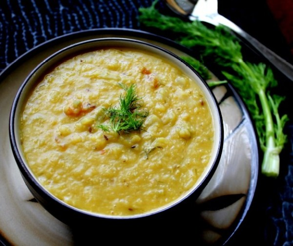 Lentil,Cabbage and Fennel Soup