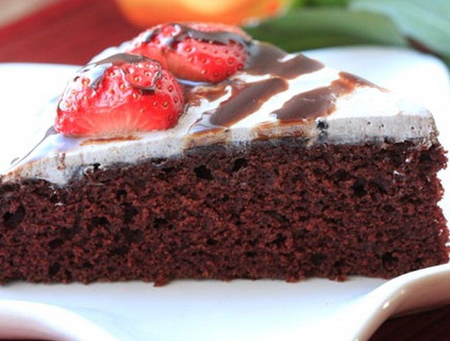 Vegan Chocolate War Cake