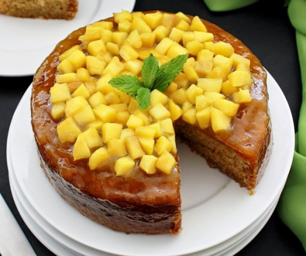Mango War Cake