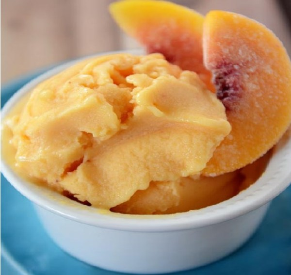 Peach Frozen Yogurt