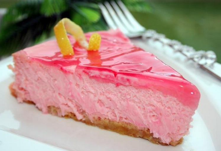 Pink Panther Cheesecake