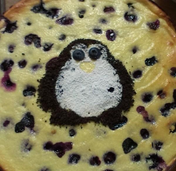 Penguins of Madagascar Cheesecake