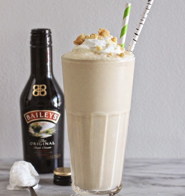 Baileys and Shortbread Milkshake