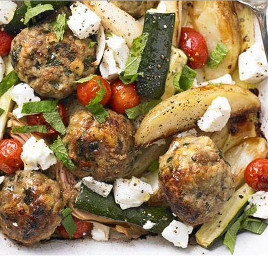 Greek Lamb Tray Bake