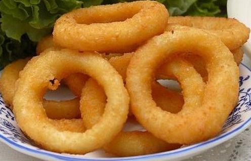 Super Quick Onion Rings