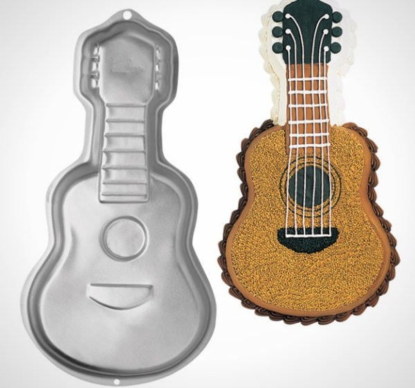 Guitar Shaped Cake Tin