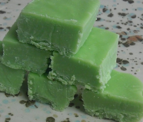 Homemade Mountain Dew Fudge