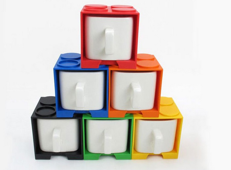 LEGO Stacking Cups