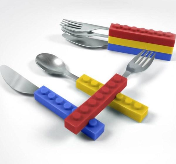 LEGO Stacking Cutlery Set
