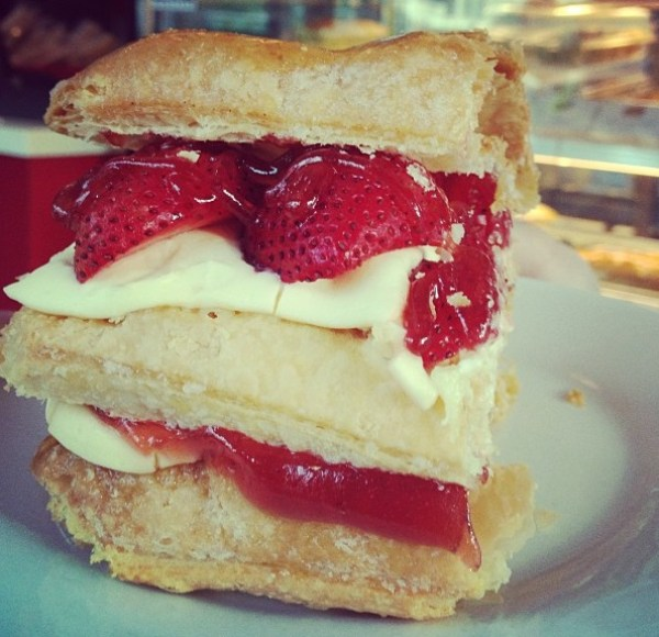 Strawberry and Apple Strudel