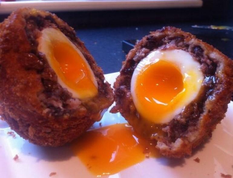 Black Pudding Scotch Eggs