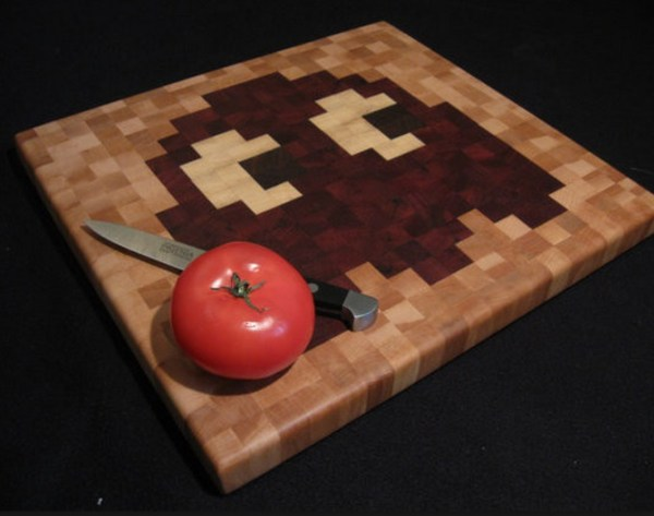 Pac-Man Cutting Board