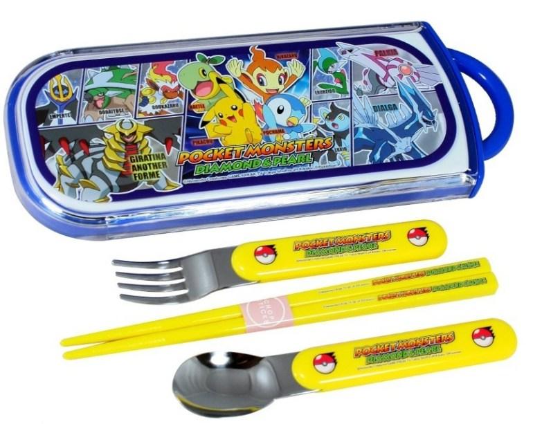 Pokemon Chopsticks and Cutlery Set