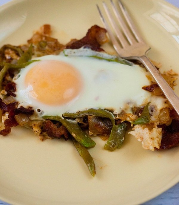Cactus and Sunny Side-up Eggs