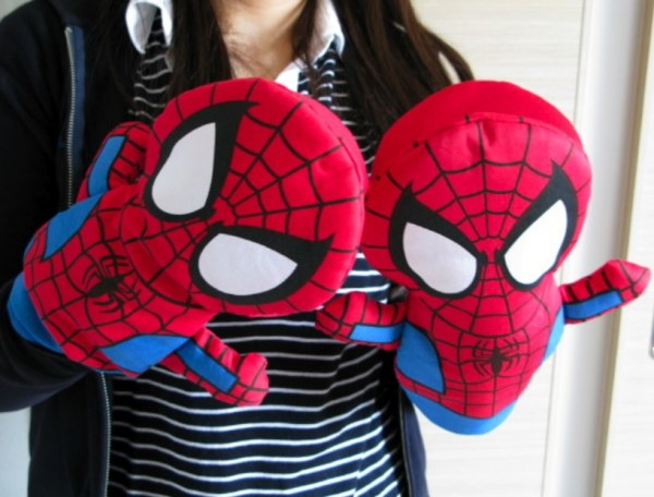 Spider-Man Oven Mitts