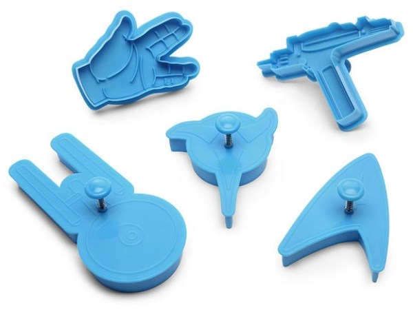 Various Star Trek Cookie Cutters