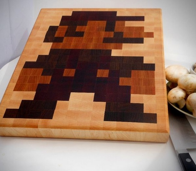 Super Mario Cutting Board
