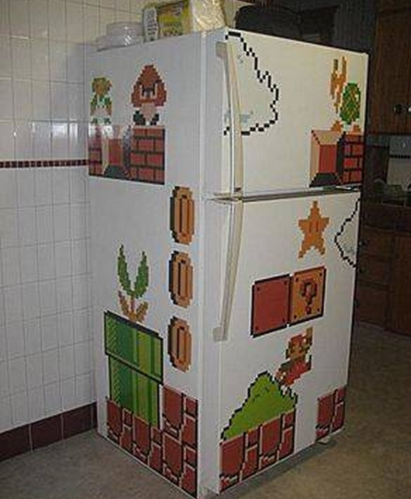 Super Mario Fridge