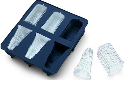 Dalek And Tardis Ice Cube Tray