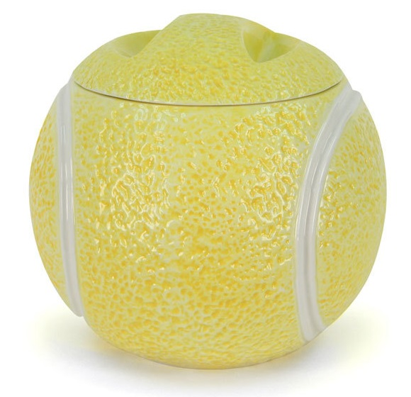 Tennis Ball Cookie Jar