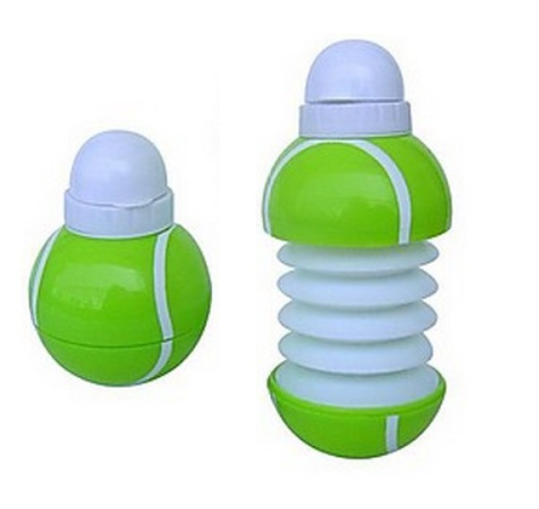 Tennis Ball Collapsible Water Bottle