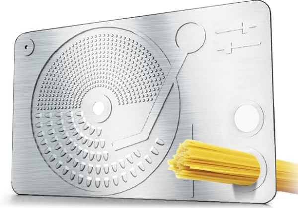 DJ Turntable Cheese Grater