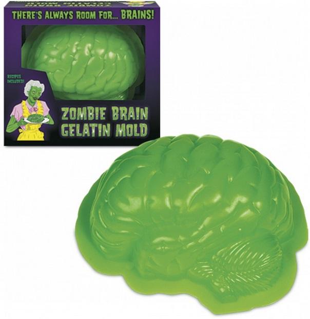 Zombie Brain Gelatin Mould