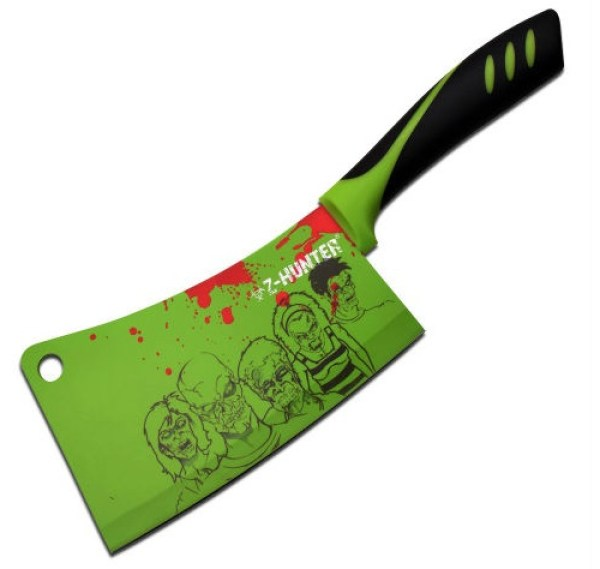 Zombie Hunter Kitchen Cleaver