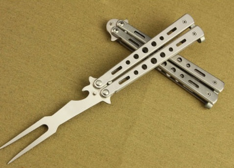 Butterfly BBQ Fork With Bottle Opener Handle