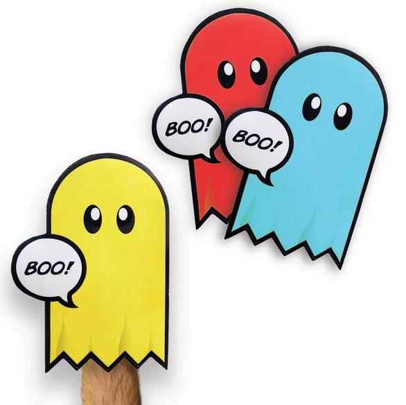 Pacman Ghost Oven Mitt