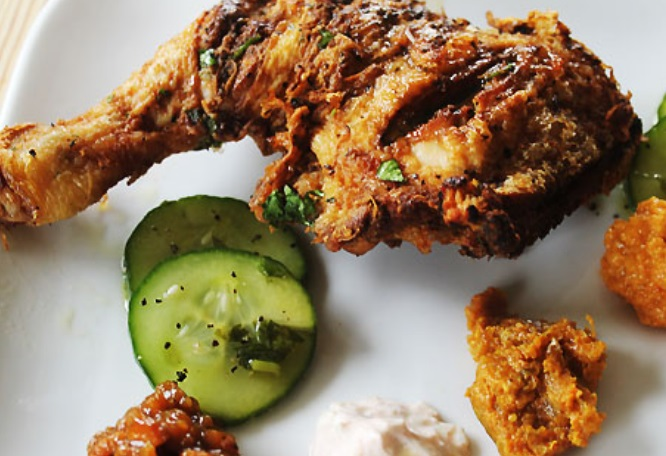 Spicy Indian Fried Chicken Recipe