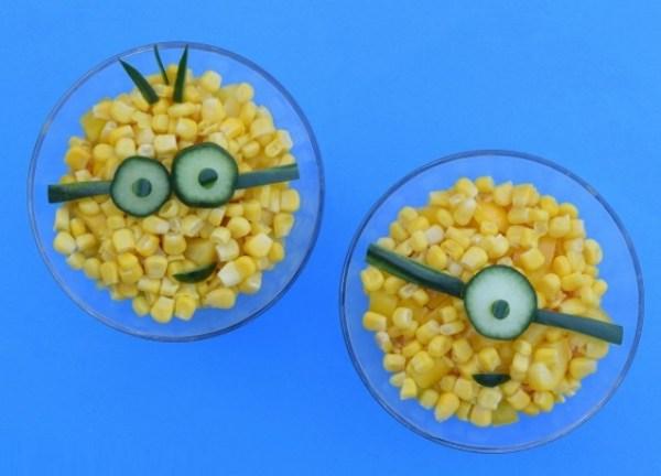 Minions Sweetcorn Salad