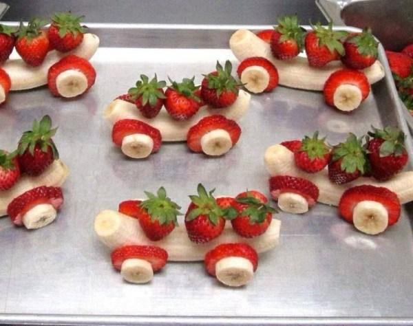 Strawberry Banana Racecars