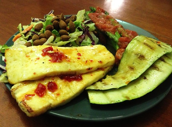Red Pepper & Vodka Paneer Steaks