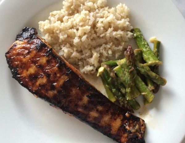 Citrus & Vodka Infused Grilled Salmon