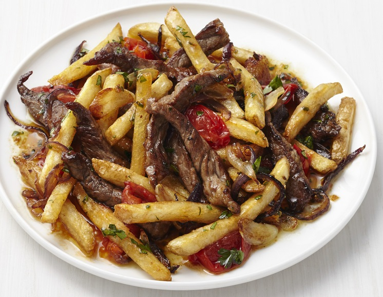 French Fry Beef Stir-Fry