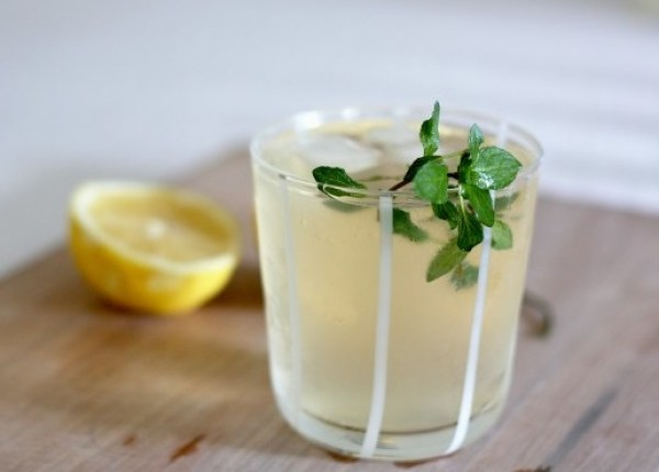 Infused Lemon, Ginger And Mint
