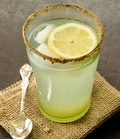 Ginger Scented Lemon Soda