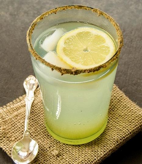 Ginger Scented Lemon Soda