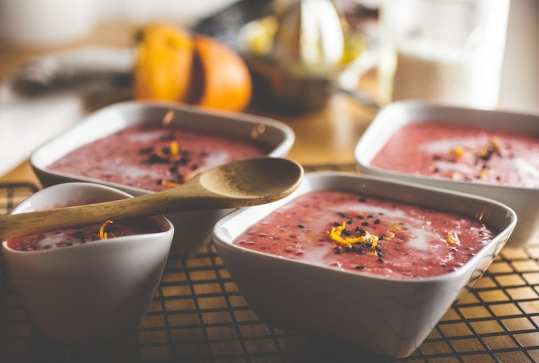Cinnamon & Blood Orange Tapioca Pudding