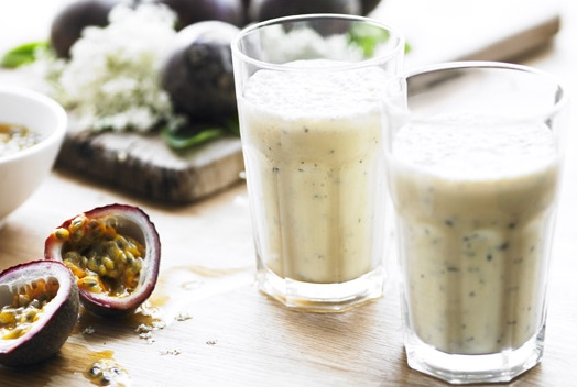 Elderflower & Passion Fruit Smoothie