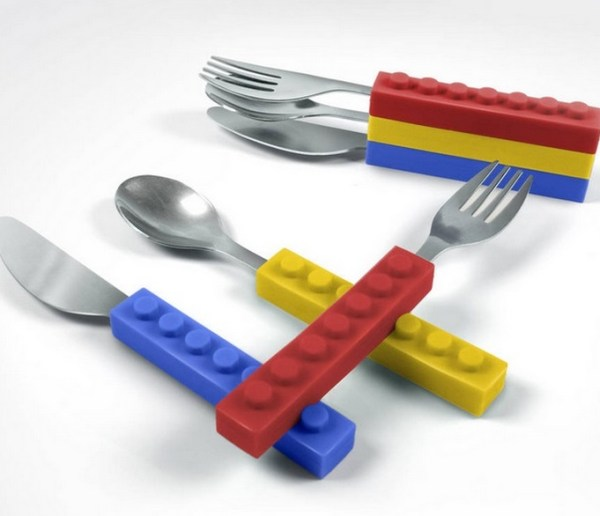 LEGO Stacking Cutlery Set