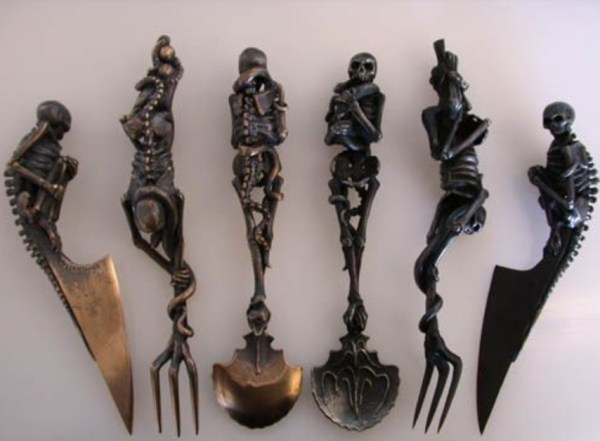 Skeleton Cutlery Set