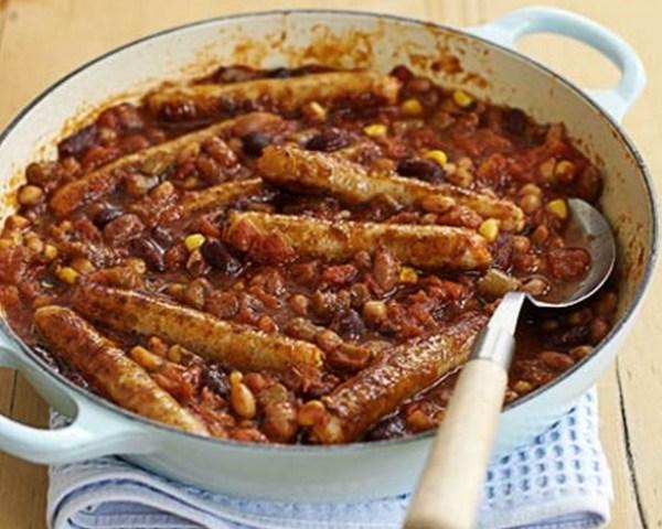 Bean & Sausage Stew