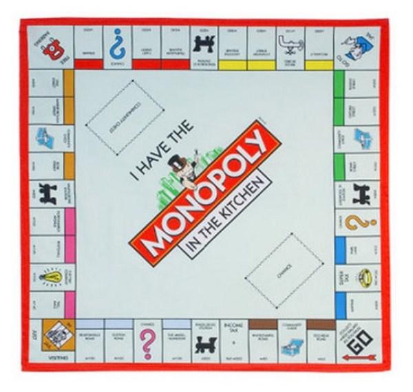 Monopoly Board Tea Towel