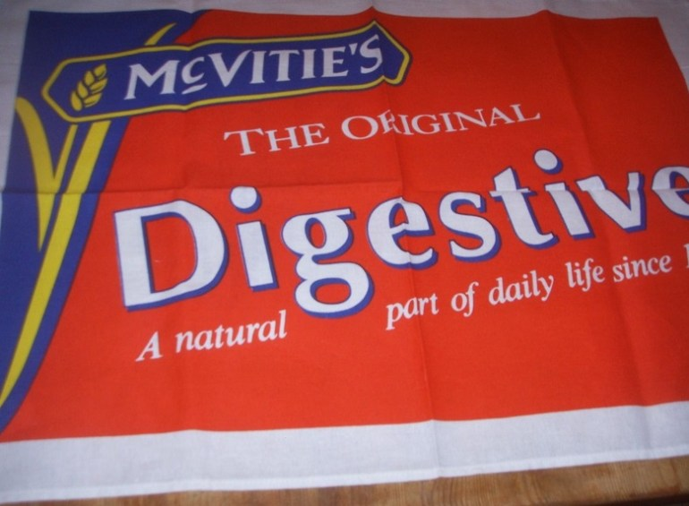 Mcvities Digestive Biscuit Tea Towel