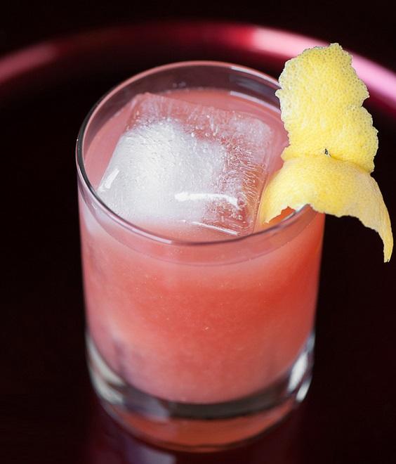 Pomegranate Whiskey Sour Recipe
