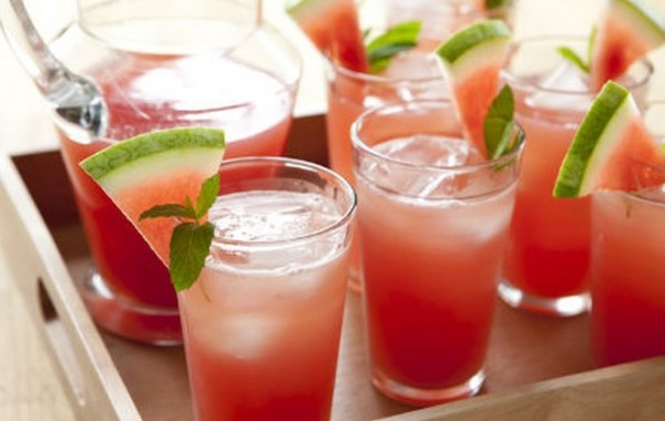 Homemade Watermelon Lemonade Recipe
